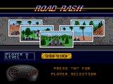 Road Rash (Sega MegaDrive) - Выбор трассы