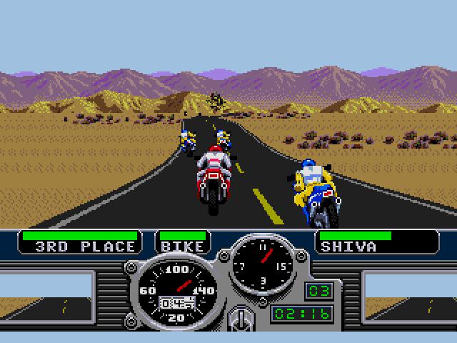 Road Rash (Sega MegaDrive)
