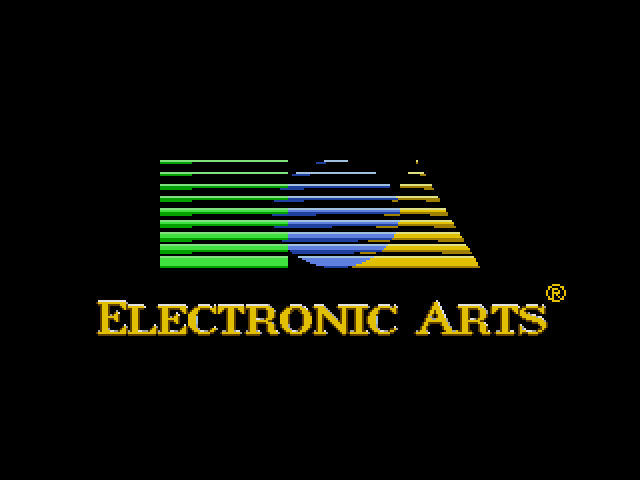 Road Rash (Sega MegaDrive) - Заставка Electronic Arts