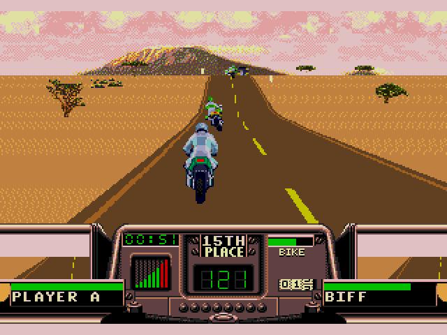 Road Rash 3 desert