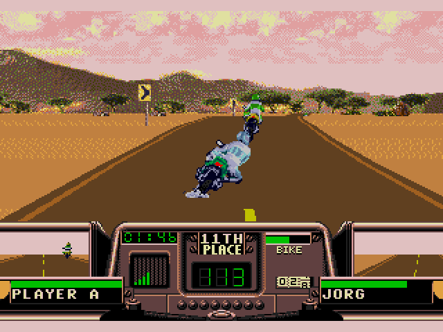 Road Rash 3 (Sega Genesis) Screenshot