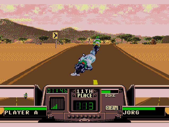 Road Rash 3 (Sega Genesis) Screenshot
