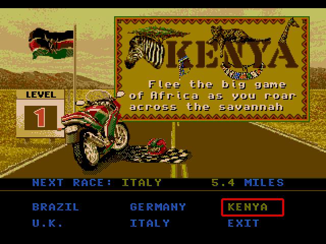Road Rash 3 (Sega MegaDrive)